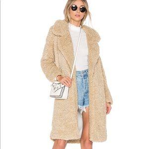 Tularosa Long teddy coat XS